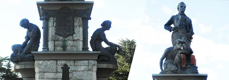 مجسمه جورج اونس باتورست