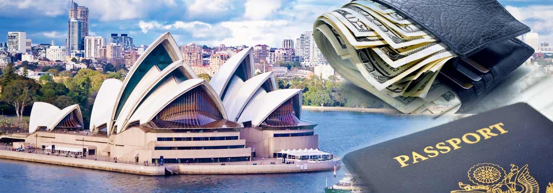 تصویر بنر هزینه مهاجرت استرالیا