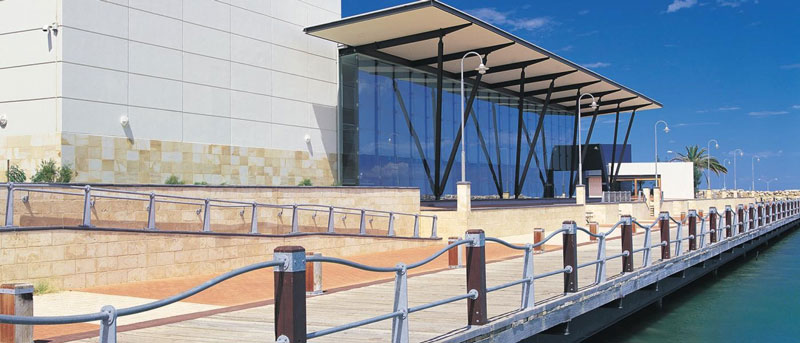 تصویر محیط خارجی موزه جرالدتون در استرالیا