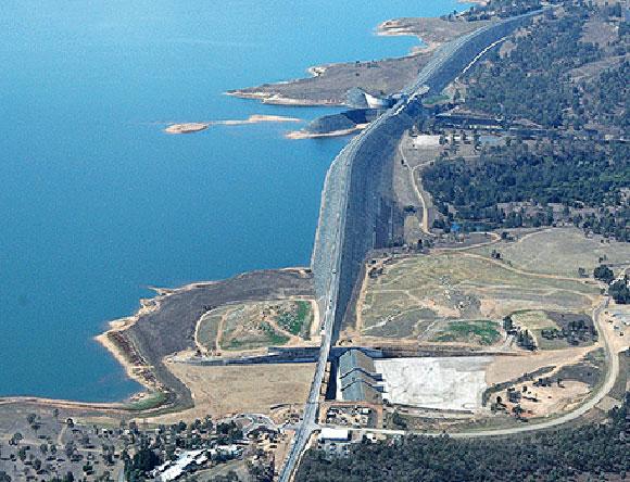 سد ویونهو در استرالیا