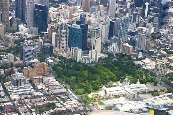 ساختار باغ کارلتون استرالیا