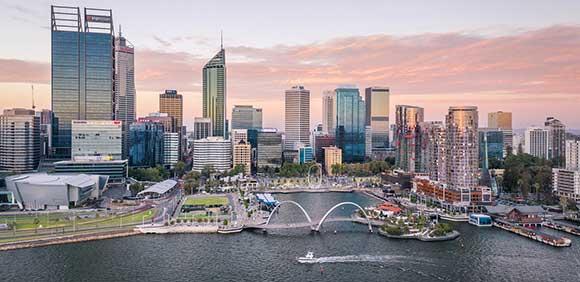 شهر پرت مرکز استرالیای غربی