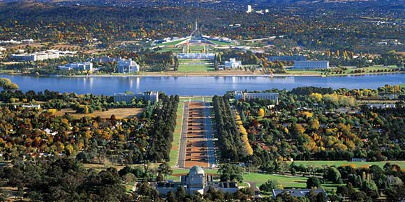 کانبرا پایتخت کشور استرالیا