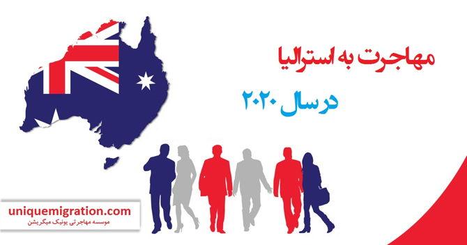 شرایط مهاجرت به استرالیا در سال 2020