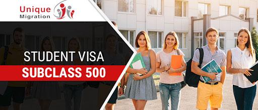 visa student subclass 500